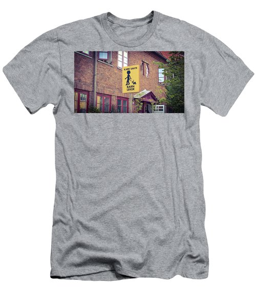 The Snail Kid Men's T-Shirt (Athletic Fit)