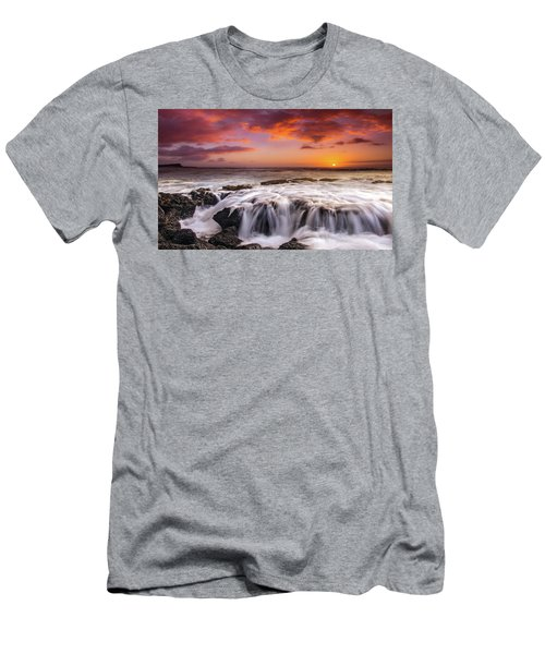 The Sound Of The Sea Men's T-Shirt (Slim Fit) by James Roemmling