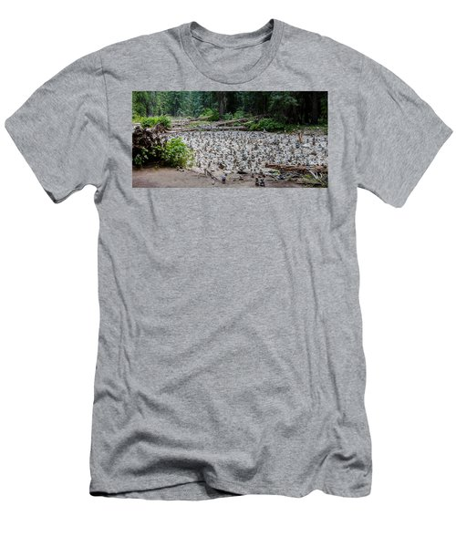 Men's T-Shirt (Athletic Fit) featuring the photograph The Spirit Crossing by Fran Riley