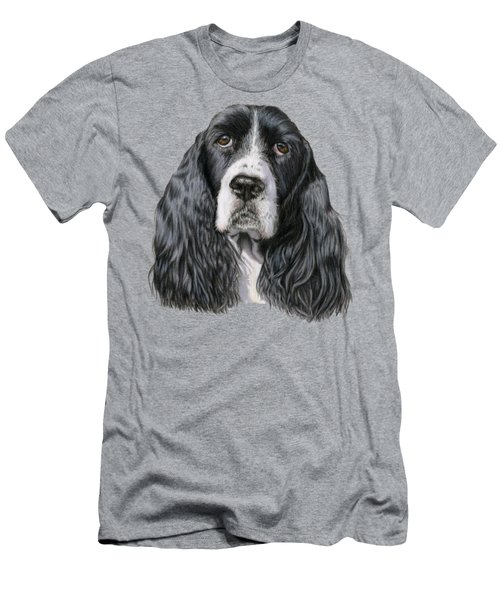 The Springer Spaniel Men's T-Shirt (Athletic Fit)