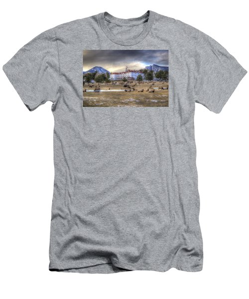 The Stanley With Elk Men's T-Shirt (Athletic Fit)