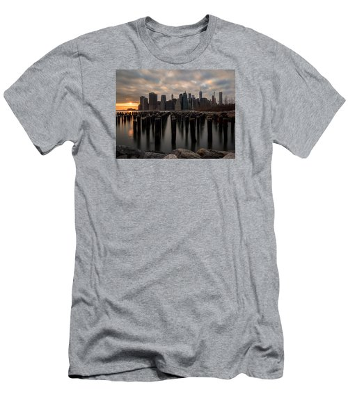 The Sticks Men's T-Shirt (Slim Fit) by Anthony Fields