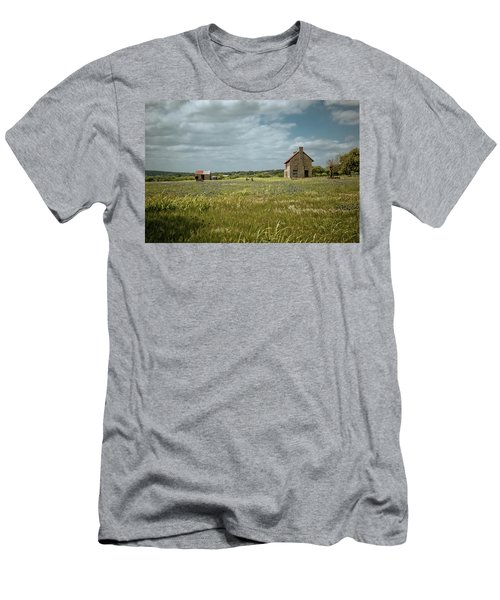 Men's T-Shirt (Slim Fit) featuring the photograph The Stone House by Linda Unger