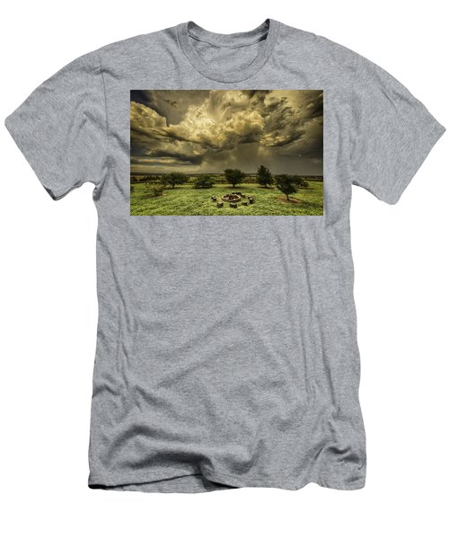 Men's T-Shirt (Athletic Fit) featuring the photograph The Storm by Chris Cousins