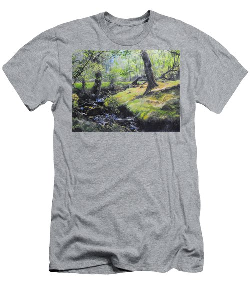 The Stream At The Farm Men's T-Shirt (Athletic Fit)
