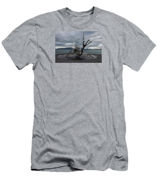 The Sun Voyager, Reykjavik, Iceland Men's T-Shirt (Athletic Fit)