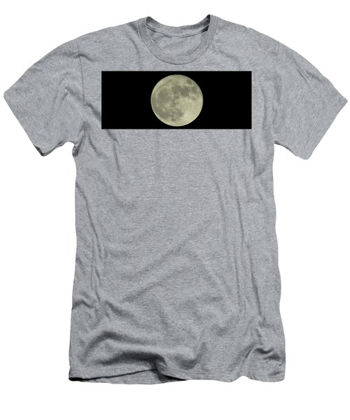 Men's T-Shirt (Athletic Fit) featuring the photograph The Super Moon 3 by Robert Knight