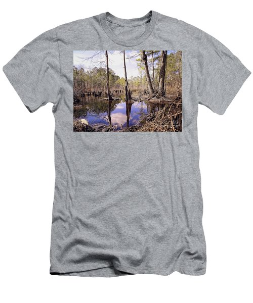 The Swamp Men's T-Shirt (Slim Fit) by Melissa Messick