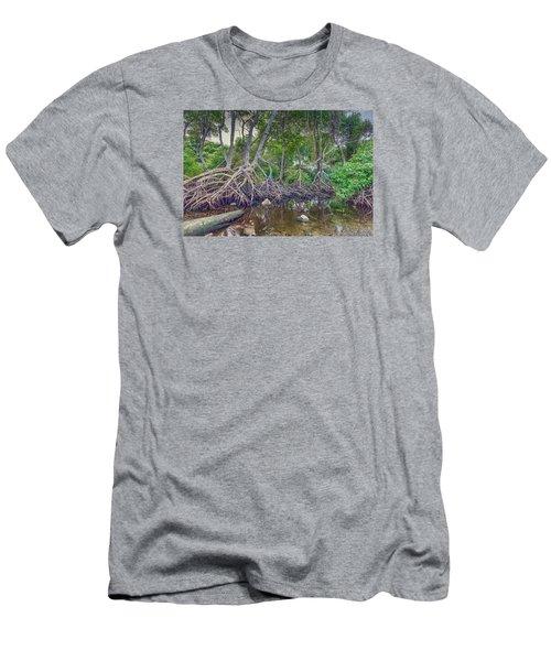 The Swamp Men's T-Shirt (Slim Fit) by Nadia Sanowar