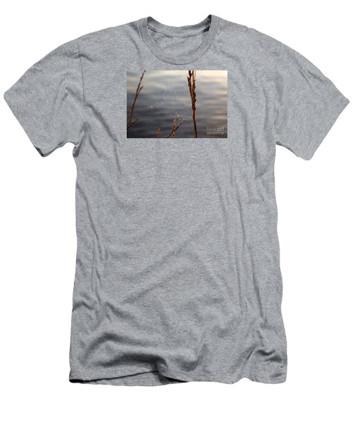 Men's T-Shirt (Slim Fit) featuring the photograph The Tangled Webs We Weave by Rebecca Davis