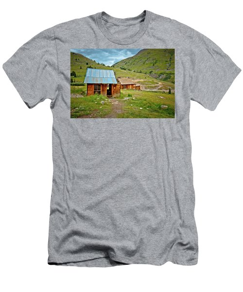 The Town Of Animas Forks Men's T-Shirt (Athletic Fit)