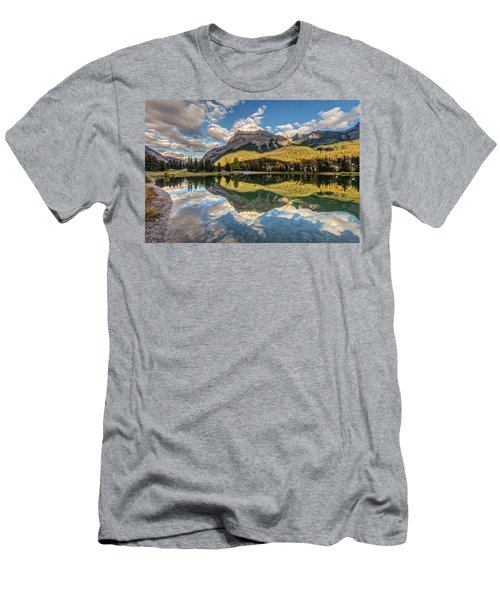 The Town Of Field In British Columbia Men's T-Shirt (Slim Fit) by Pierre Leclerc Photography