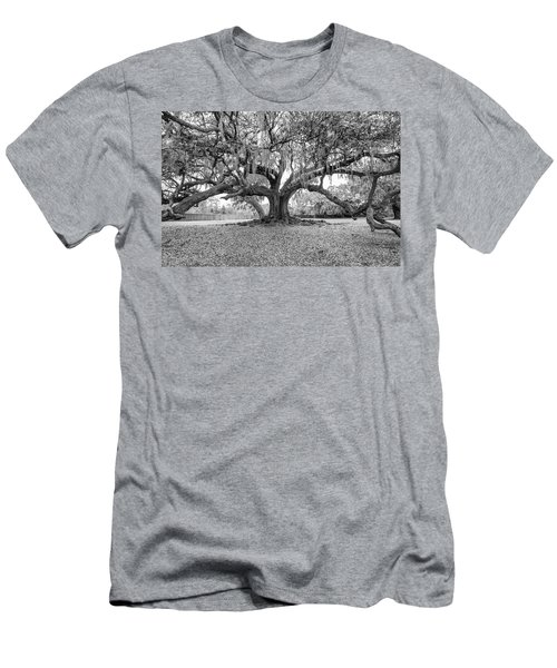 The Tree Of Life Monochrome Men's T-Shirt (Athletic Fit)