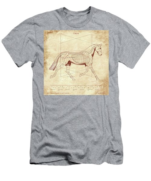 The Trot - The Horse's Trot Revealed Men's T-Shirt (Athletic Fit)