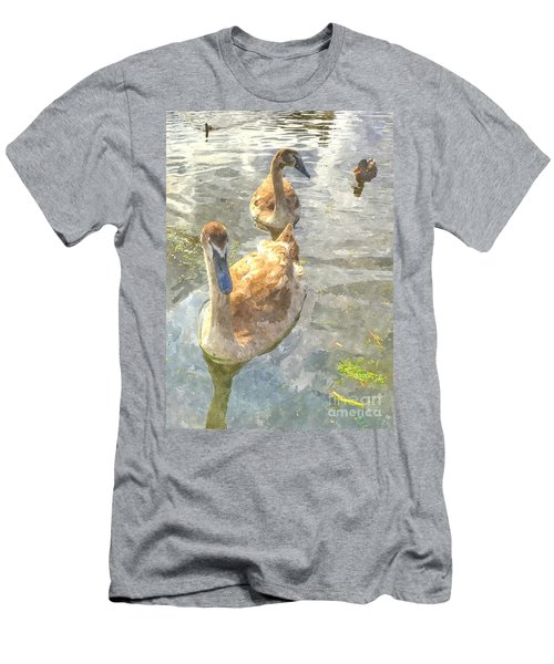 The Two Cygnets Men's T-Shirt (Athletic Fit)