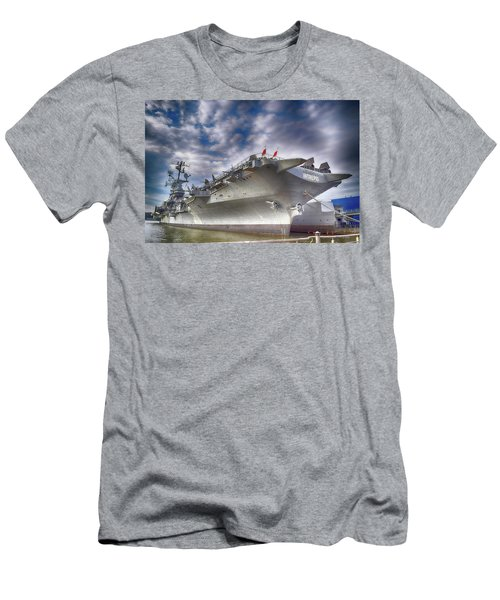 The U S S Intrepid  Men's T-Shirt (Athletic Fit)