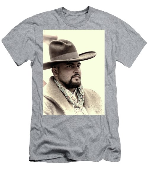 Men's T-Shirt (Athletic Fit) featuring the photograph The Vaquero by Jeanne May