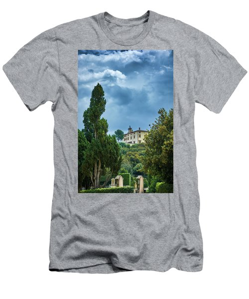 The Views From The Boboli Gardens Men's T-Shirt (Athletic Fit)