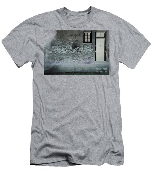 Men's T-Shirt (Slim Fit) featuring the photograph The Wall by Douglas Stucky