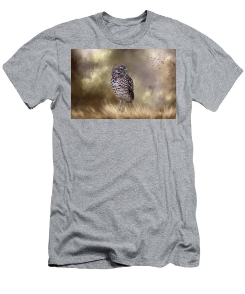 Men's T-Shirt (Athletic Fit) featuring the photograph The Watchful Eye by Kim Hojnacki
