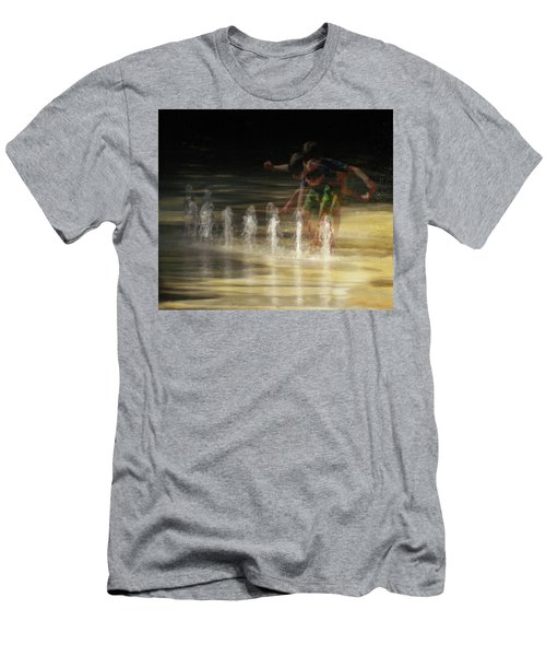 The Water Maestro  Men's T-Shirt (Athletic Fit)