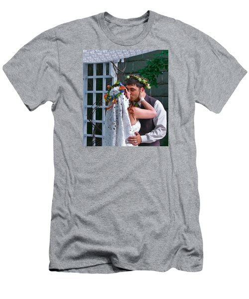 The Wedding Kiss Men's T-Shirt (Athletic Fit)