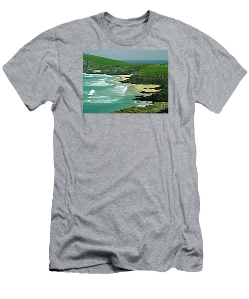 The West Coast Of Ireland Men's T-Shirt (Slim Fit) by Patricia Griffin Brett