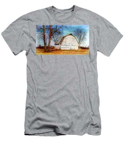 The White Barn Men's T-Shirt (Slim Fit) by Karen McKenzie McAdoo
