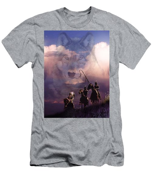 The Wolf Men's T-Shirt (Athletic Fit)