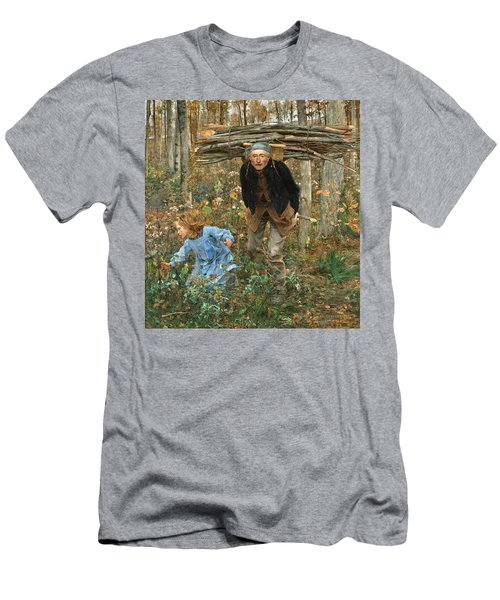 The Wood Gatherer Men's T-Shirt (Athletic Fit)