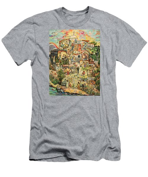 The Works Of Mercy Men's T-Shirt (Athletic Fit)