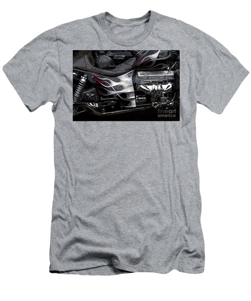 the WOW factor Men's T-Shirt (Slim Fit) by Diane E Berry