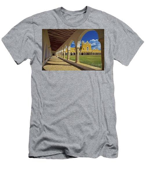 The Yellow City Of Izamal, Mexico Men's T-Shirt (Slim Fit) by Sam Antonio Photography