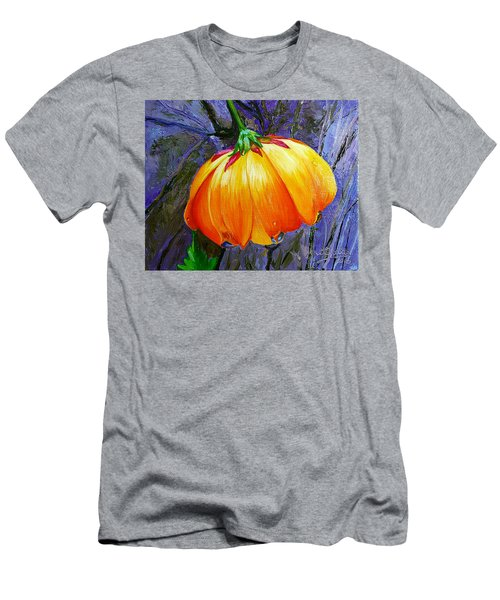 The Yellow Flower Men's T-Shirt (Slim Fit) by Janet Garcia