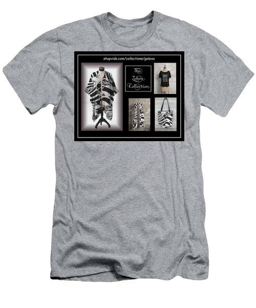 The Zebra Collection Men's T-Shirt (Slim Fit) by Geraldine Alexander