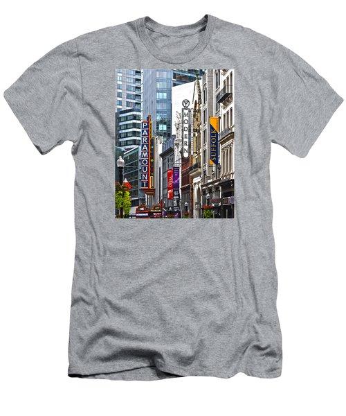 Theatre District Men's T-Shirt (Slim Fit) by Stephen Flint