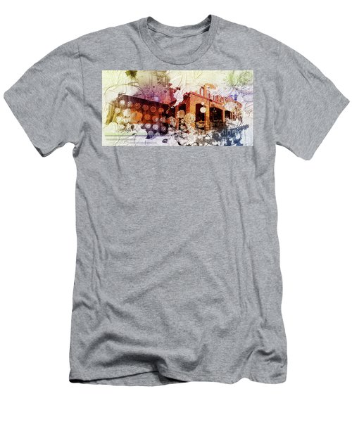 Them Olden Days Men's T-Shirt (Slim Fit) by Deborah Nakano