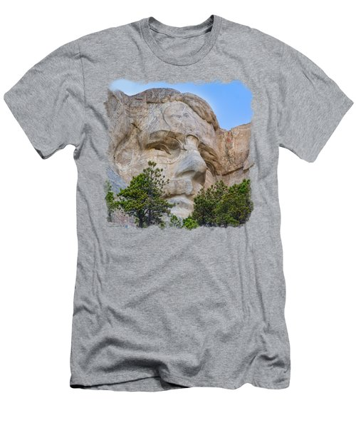 Theodore Roosevelt 3 Men's T-Shirt (Slim Fit) by John M Bailey