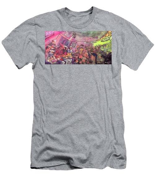 Thin Air At The Woodcellar Men's T-Shirt (Athletic Fit)