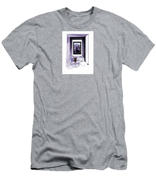 Thinking Of You-1 Men's T-Shirt (Athletic Fit)