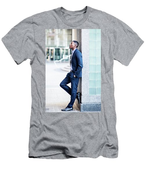 Thinking Outside Men's T-Shirt (Athletic Fit)