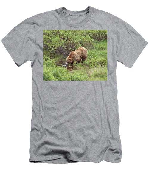 Thirsty Grizzly Men's T-Shirt (Athletic Fit)