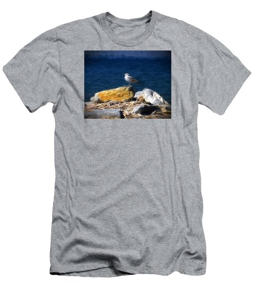 This Gull Has Flown Men's T-Shirt (Athletic Fit)