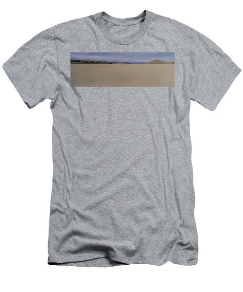 This Is A Dry Lake Pattern Men's T-Shirt (Slim Fit) by Panoramic Images
