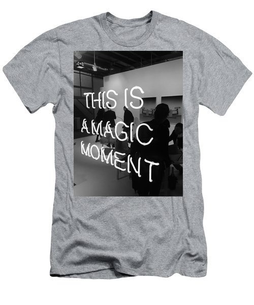 This Is A Magic Moment Men's T-Shirt (Slim Fit) by Funkpix Photo Hunter