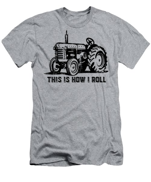 This Is How I Roll Tee Men's T-Shirt (Slim Fit) by Edward Fielding