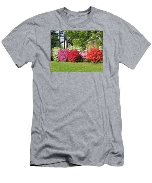 Men's T-Shirt (Slim Fit) featuring the photograph This Is Spring In Pa by Jeanette Oberholtzer