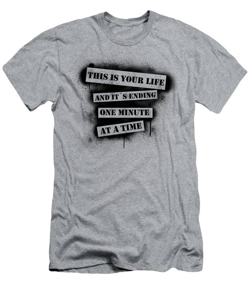 This Is Your Life - Fight Club Men's T-Shirt (Slim Fit) by Nicklas Gustafsson