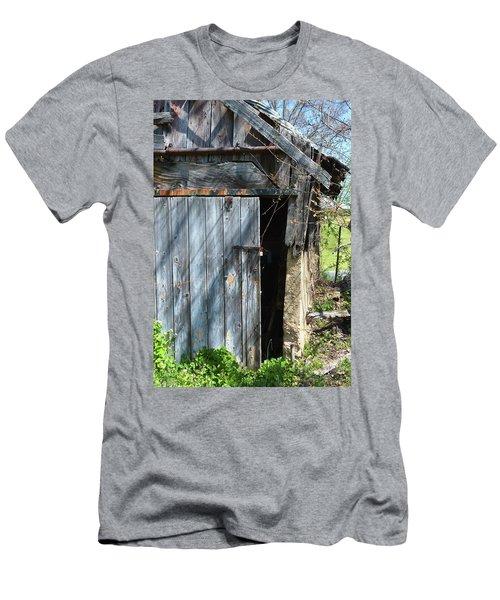 This Old Barn Door Men's T-Shirt (Slim Fit) by Kathy Kelly