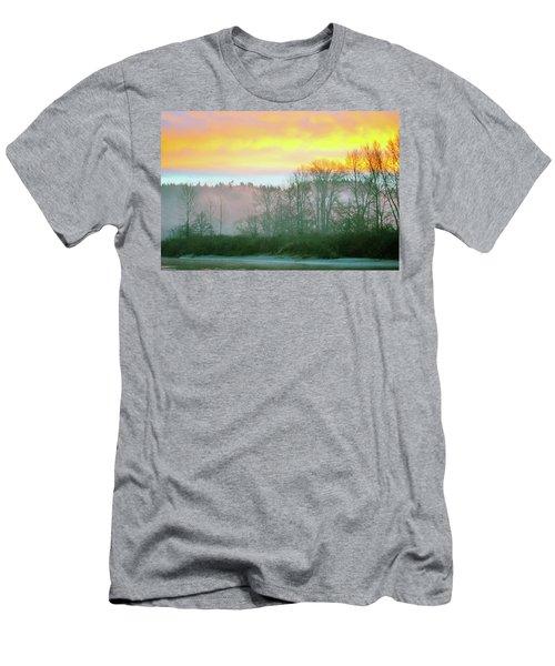 Thomas Eddy Sunrise Men's T-Shirt (Athletic Fit)